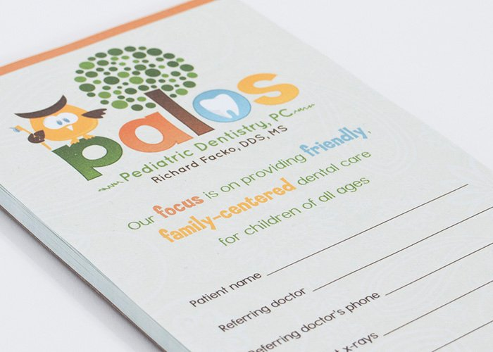 referral pads for pediatricians
